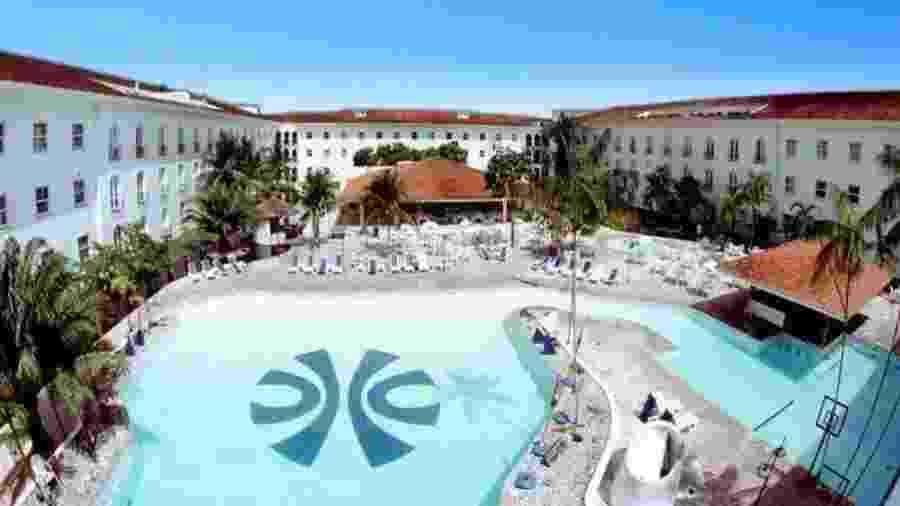 Vista da piscina do Hotel Tropical, em Manaus - Reprodução/Hurb.com