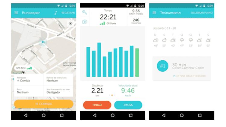 RunKeeper - Veja apps que ajudam na rotina de exercícios - Reprodução - Reprodução