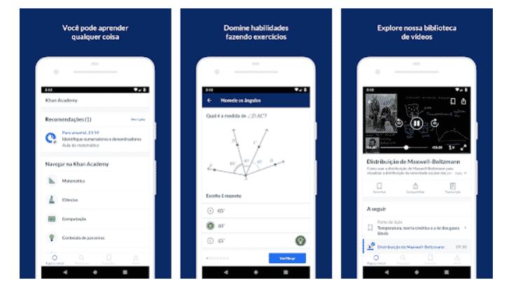 Khan Academy: aplicativos para aprender ainda mais - Reprodução - Reprodução