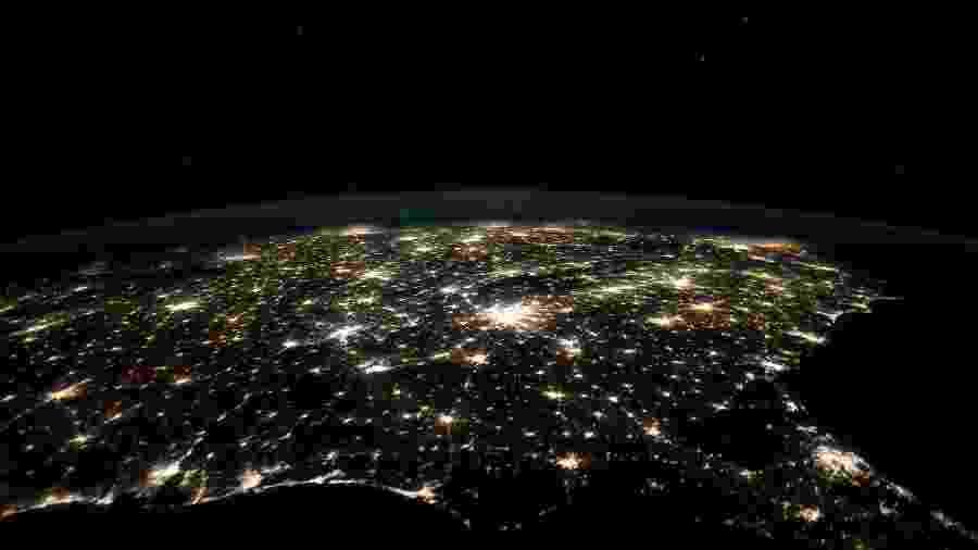 Comparativos detectaram menos poluentes na atmosfera diante de medidas de isolamento - Nasa/Divulgação