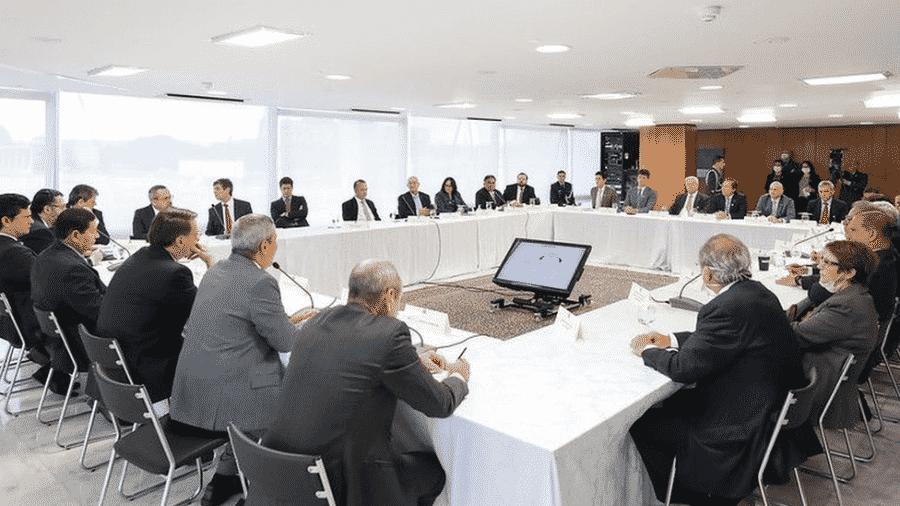 Gravação de encontro revelou ao país uma reunião dentro do Palácio do Planalto repleto de ataques a outras autoridades, termos chulos e declarações de cunho autoritário - Palácio do Planalto