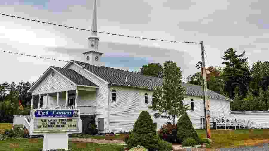 Igreja que sediou casamento com surto de covid-19 - Joseph Prezioso / AFP