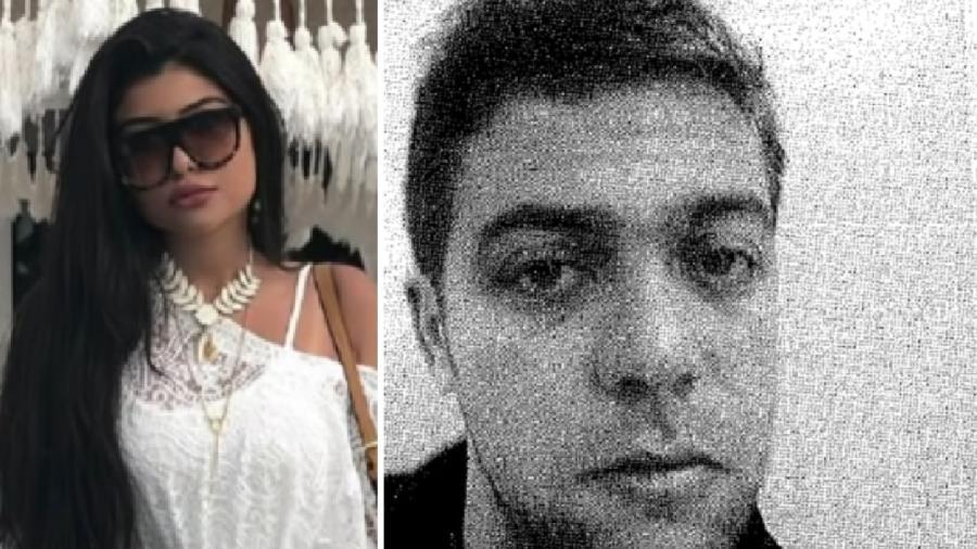 Mariana Ferrer e André Camargo Aranha - Reprodução/The Intercept