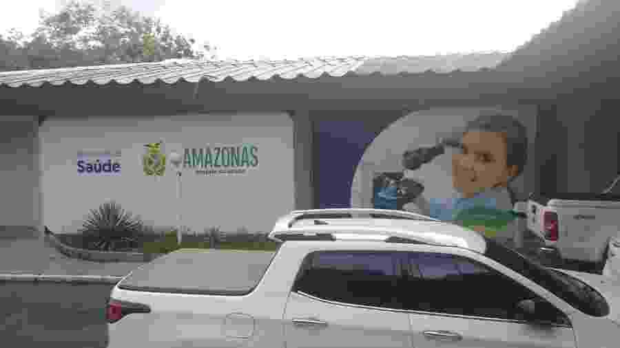 No âmbito da Operação Sangria, mandados também estão sendo cumpridos na Secretaria de Saúde do Amazonas - Divulgação/PF