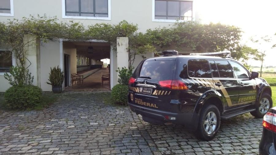 Polícia Federal cumpriu mandados em duas cidades - Polícia Federal/ Divulgação