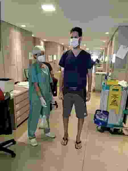 Fisioterapia - Arquivo Pessoal - Arquivo Pessoal