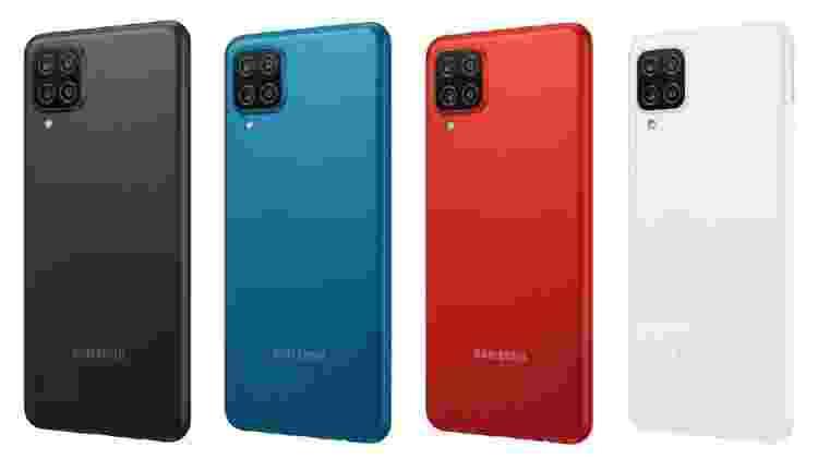 Galaxy A12  - Reprodução - Reprodução