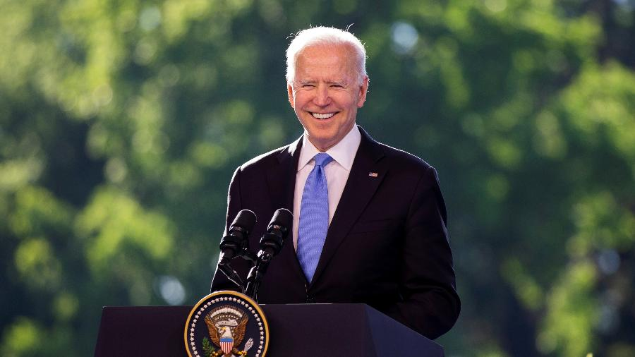 O presidente dos EUA, Joe Biden - Peter Klaunzer / Pool via REUTERS