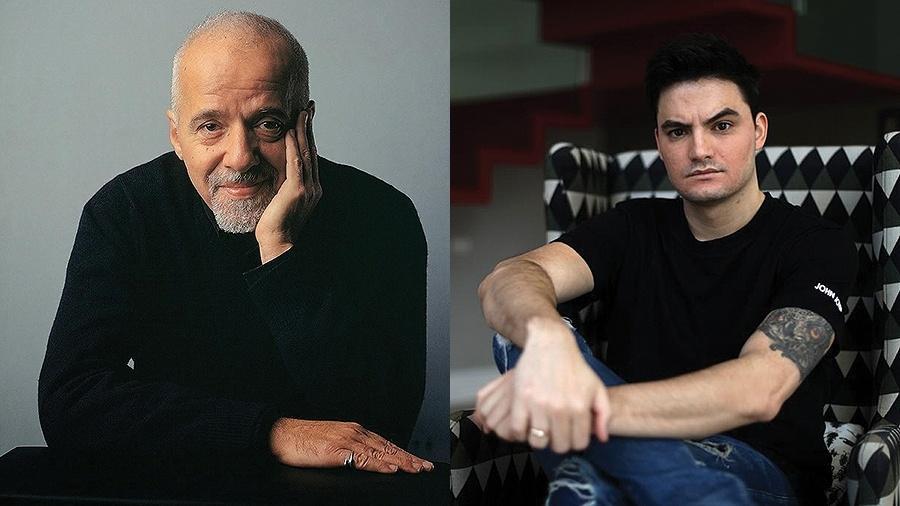 """Paulo Coelho apoia Felipe Neto após ameaças: """"Não brinca com milicianos"""" - Divulgação"""