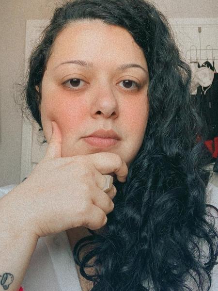 Gheisa Lessa, 30, não conseguiu se vacinar em São Bernardo (SP) e culpa site - Arquivo pessoal