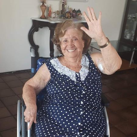 Maria Albani batiza lei que dá direito a contato com a família a qualquer pessoa internada no país - Acervo Pessoal