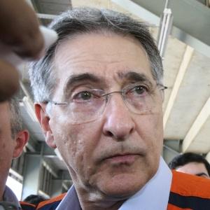 Fernando Pimentel, governador de Minas Gerais, em entrevista na cidade de Mariana - Luiz costa/Hoje em Dia