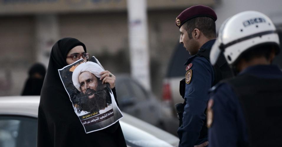 5.jan.2016 - No dia 4, Bahrein e Sudão, de maioria sunitas, anunciaram apoio à Arábia Saudita e também romperam com o Irã. A decisão barenita causou diversos protestos de xiitas próximo à capital Manama, no dia seguinte ao anúncio