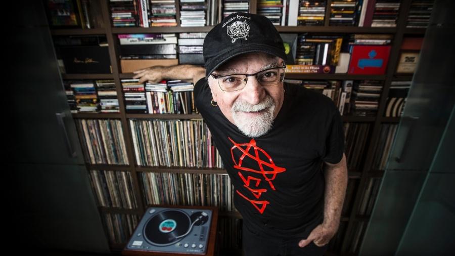 Kid Vinil é cantor, compositor, radialista, apresentador, jornalista, colecionador de discos e versátil como São Paulo - Lucas Lima/UOL