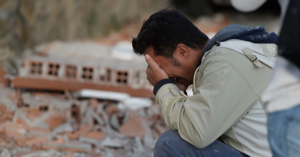 24,ago.2016 - Um forte terremoto no centro da Itália, provocou danos severos em algumas regiões e deixou dezenas de mortos e feridos