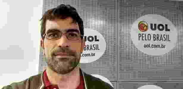 Foto tirada com câmera frontal do Moto G5 Plus - Márcio Padrão/UOL - Márcio Padrão/UOL