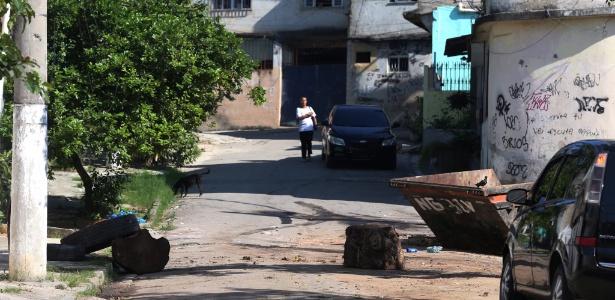 Cordovil, zona norte do Rio, onde facções fizeram confronto no início do mês