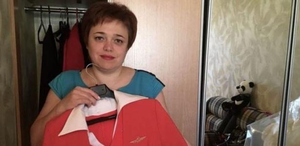 Salário de Evgenia Magurina foi cortado por ela não usar tamanho de vestido exigido - BBC