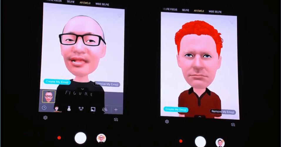 Você pode compartilhar os emoji 3D com os amigos.