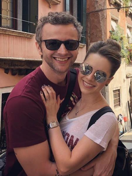 Sandy e Lucas Lima comemoram 10 anos de casados em viagem pela Itália - Reprodução/Instagram