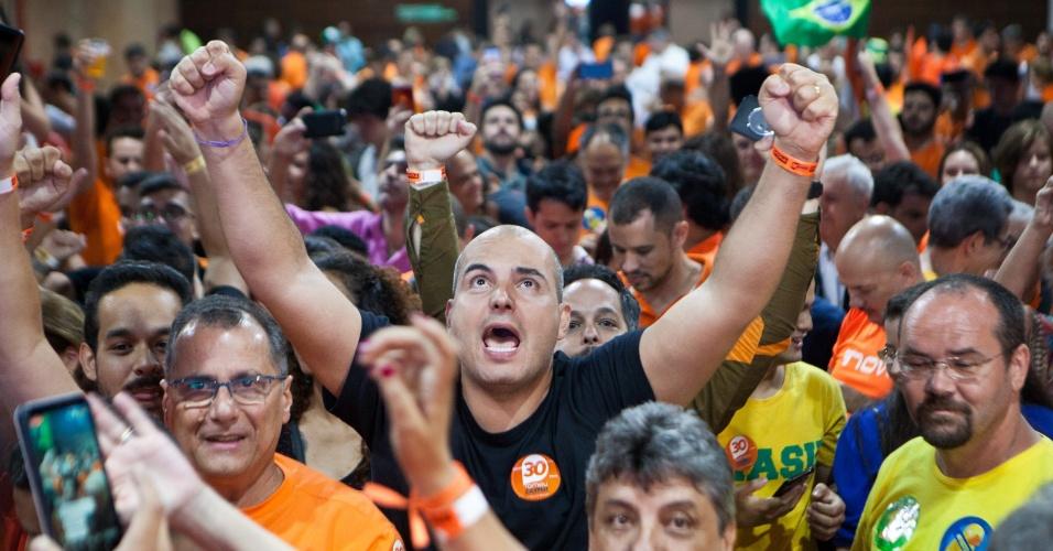 28.out.2018 - Romeu Zema (Novo) foi eleito governador de Minas Gerais com 71,83% dos votos