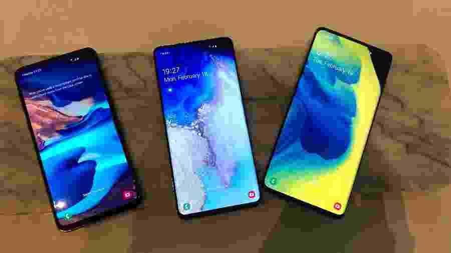 Usuária britânica detectou problemas no reconhecimento de impressão digital do Galaxy S10 - Gabriel Francisco Ribeiro/UOL