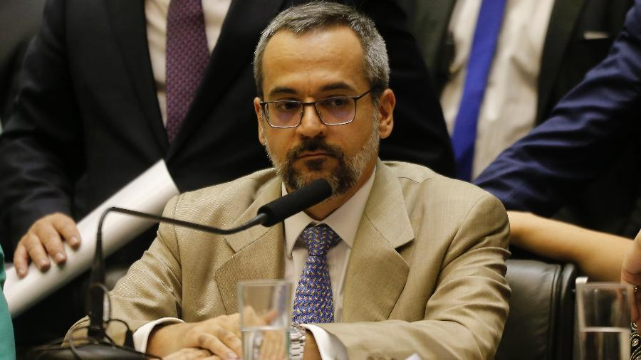 O ministro da Educação, Abraham Weintraub - Dida Sampaio/Estadão Conteúdo
