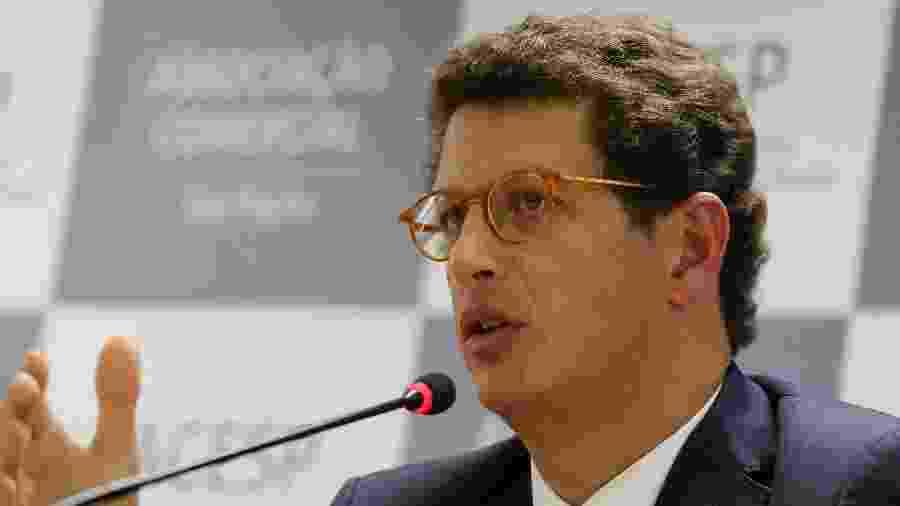O ministro do Meio Ambiente, Ricardo Salles - Nelson Antoine/Estadão Conteúdo