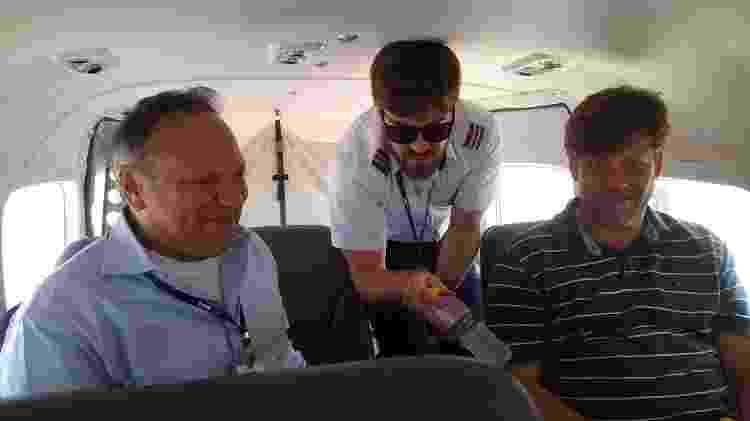 TowFlex serviço de bordo - Vinícius Casagrande/UOL - Vinícius Casagrande/UOL