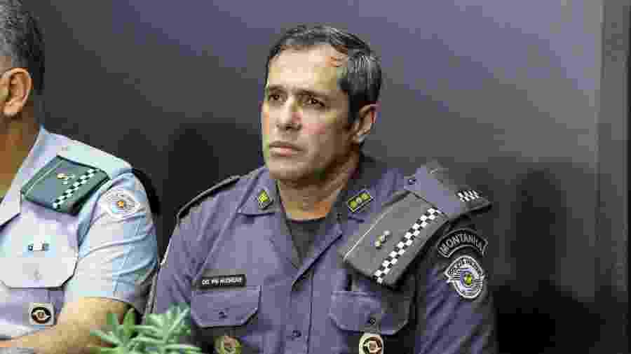 Coronel Fernando Alencar Medeiros, novo comandante da PM de SP - 09.mar.2020 - Divulgação/Governo de SP