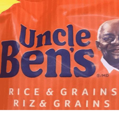 """Logo da marca de arroz Uncle Ben""""s - Reprodução"""