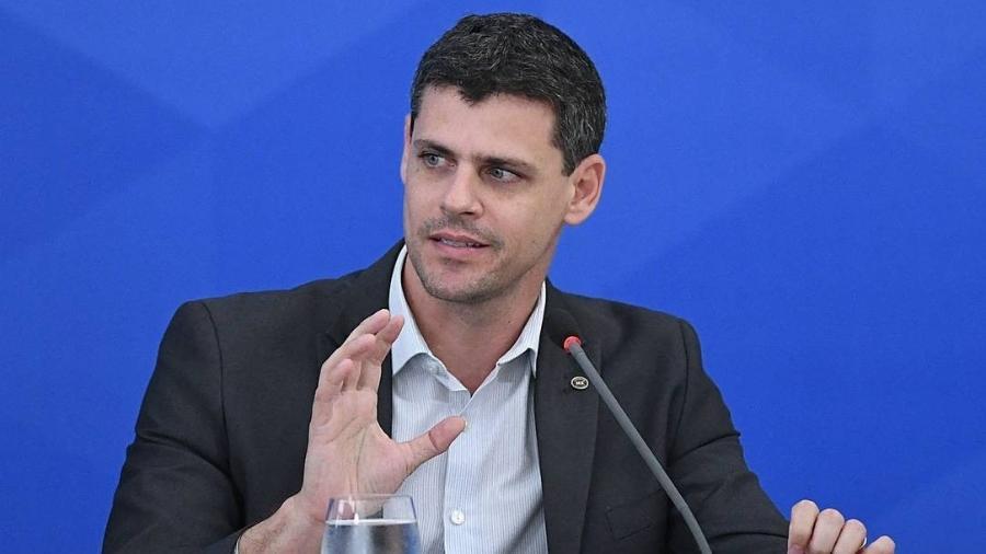 Bruno Funchal, secretário do Tesouro Nacional, afirmou que aumento dos preços de produtos alimentícios é efeito de choque temporário - Edu Andrade/Ministério da Economia