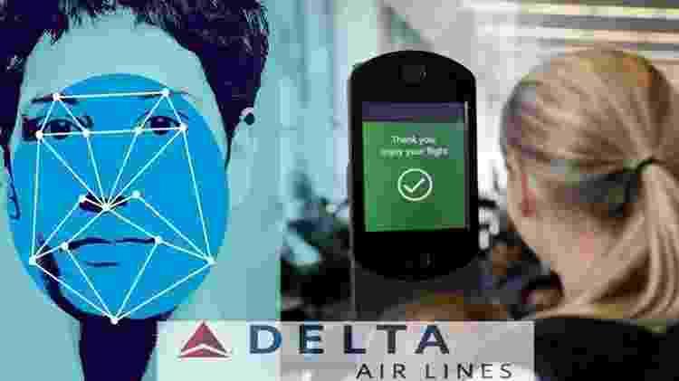 Delta já usa sistema de reconhecimento facial para embarques - Reprodução - Reprodução