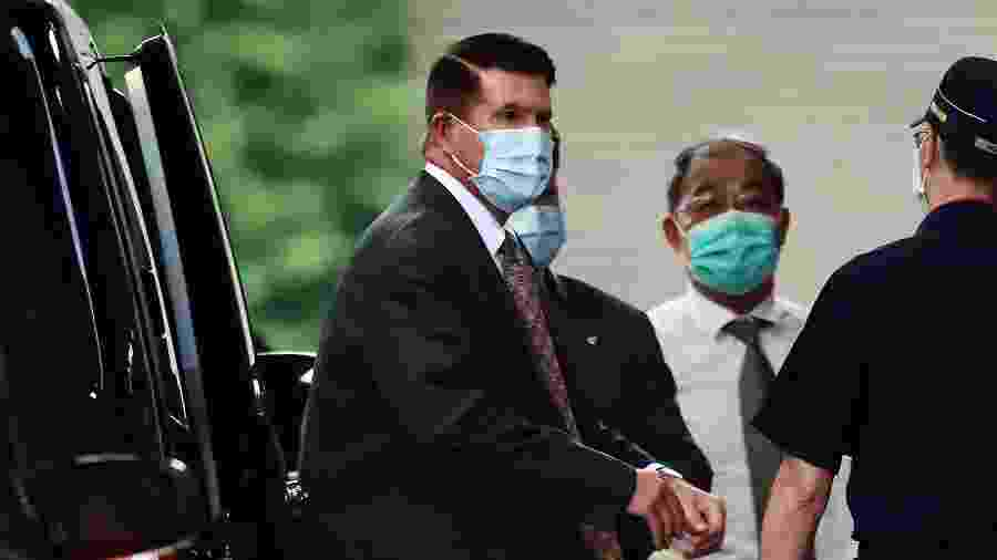 Keith Krach visita Taiwan e deve participar de cerimônia ao ex-presidente Lee Teng-hui - AFP/CNA Photo