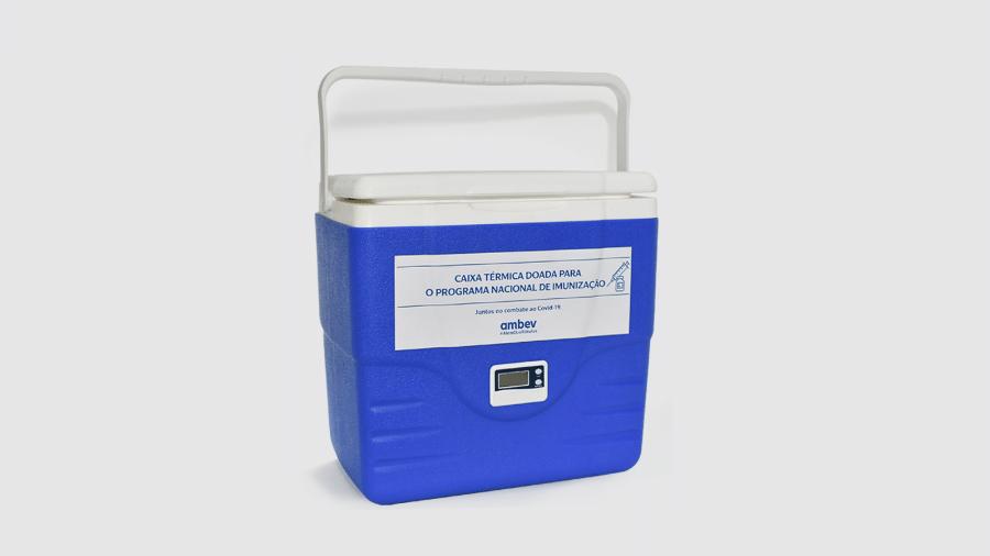 Caixas térmicas serão adaptadas para transporte de vacinas - Divulgação
