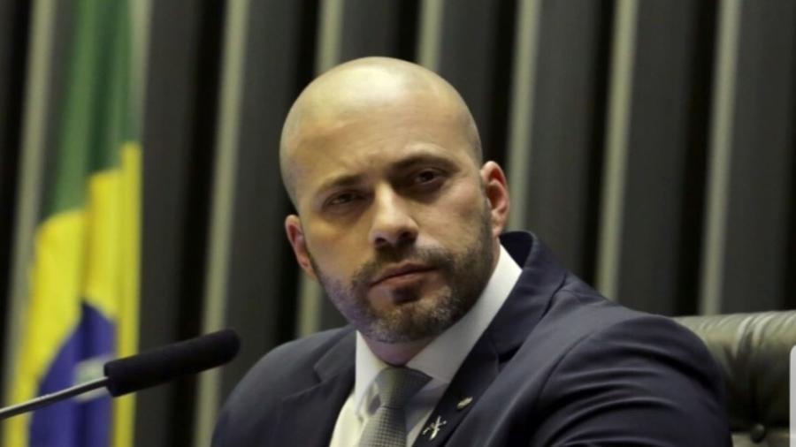 O deputado federal Daniel Silveira (PSL-RJ), preso em 16/02/2021 após ataques a ministros do STF - Divulgação/Deputado Daniel Silveira