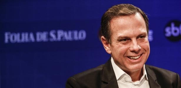 Em SP, João Doria uniu 12 partidos ao PSDB e obteve 31% do tempo de propaganda