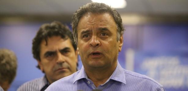 Aécio se defende de acusações e confirma afastamento da Presidência do PSDB - FLÁVIO TAVARES/HOJE EM DIA/ESTADÃO CONTEÚDO