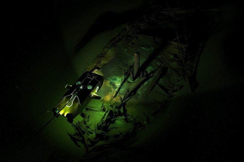 CEMITÉRIO DE NAVIOS PRESERVADOS NO MAR NEGRO - A primeira expedição que mapeou antigas paisagens no mar Negro tem feito grandes descobertas. O time internacional de arqueólogos encontrou no fundo das águas da região um
