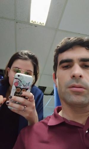 Foto tirada com Zenfone 3 (câmera frontal) no modo automático