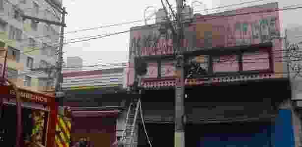 incêndio em SP - Nelson Antoine/Framephoto/Estadão Conteúdo  - Nelson Antoine/Framephoto/Estadão Conteúdo