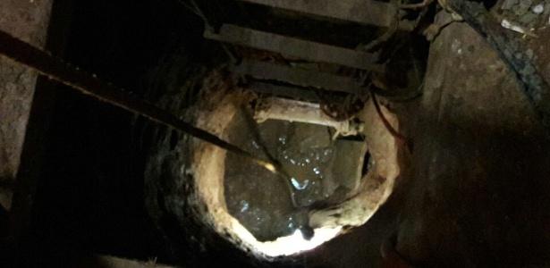 O túnel começou a ser construído em um casa vizinha ao presídio