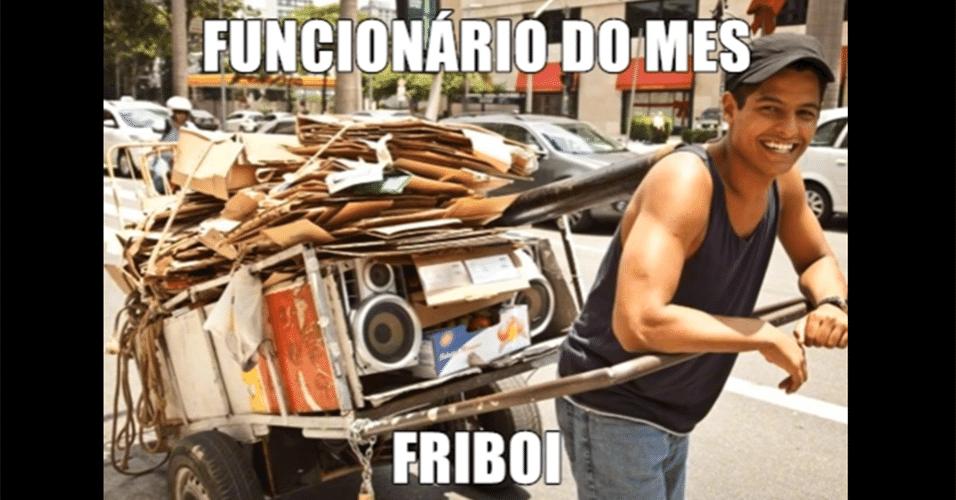 Memes da carne: funcionário do mês da Friboi