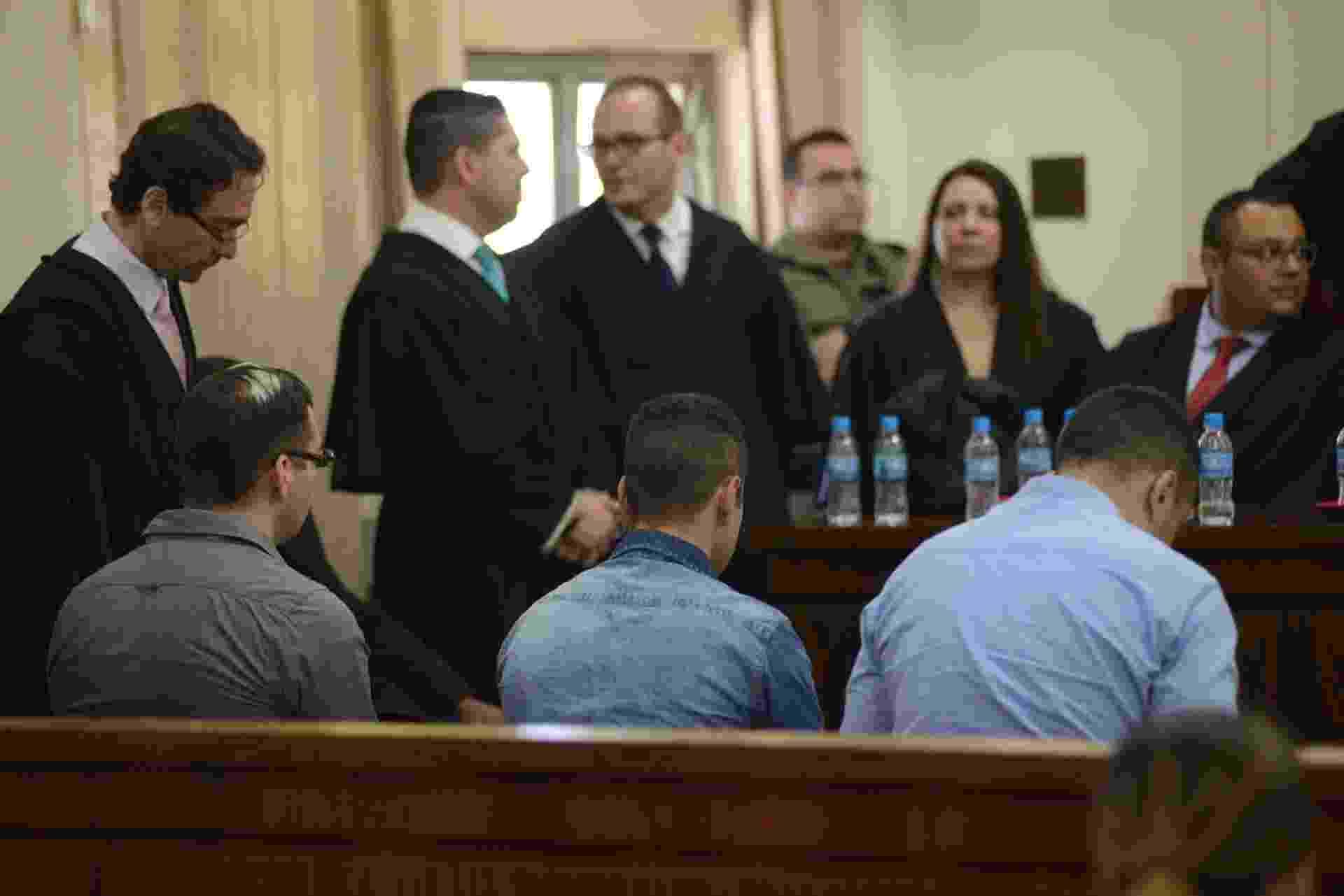 Julgamento de acusados de envolvimento em chacina na periferia de SP - ANTÔNIO CÍCERO/PHOTOPRESS/ESTADÃO CONTEÚDO