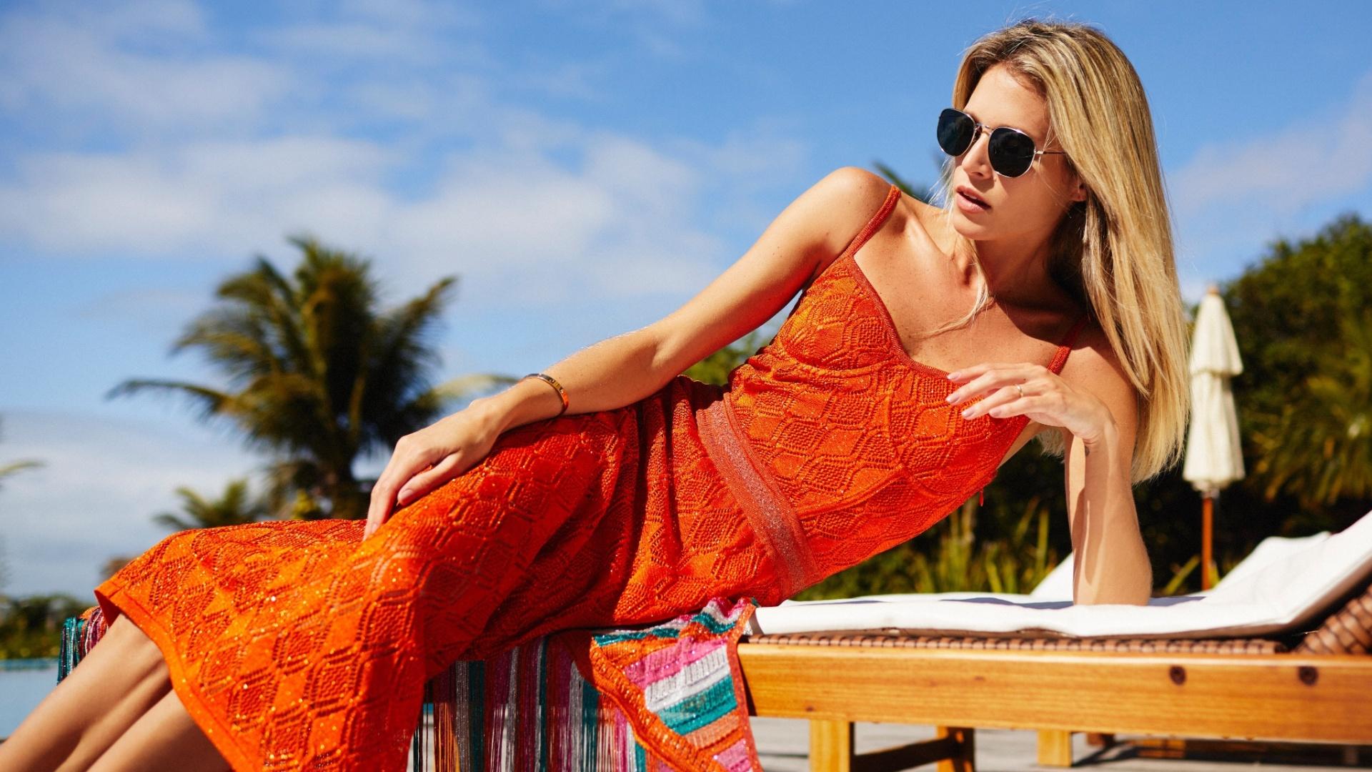 Renata Campos roupas tricô
