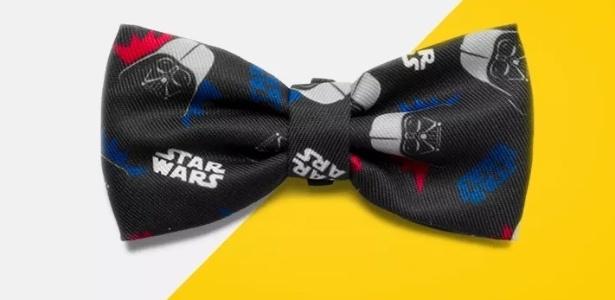 Zee.Dog gravata borboleta do Darth Vader