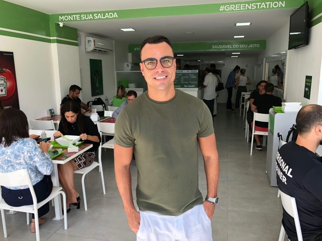 Green Station sócio Biel Maciel