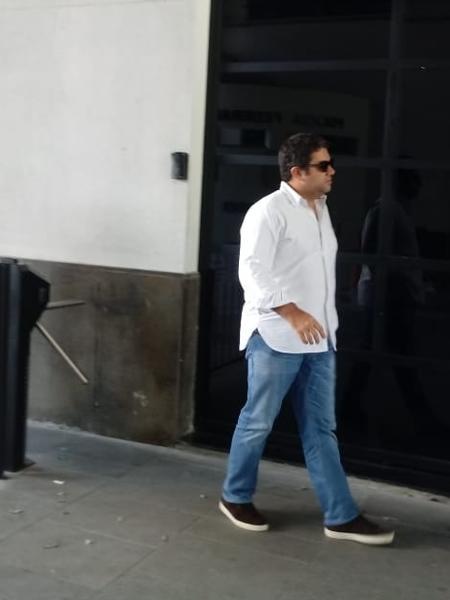 O advogado Gustavo Bonini Guedes, que tentou visitar Temer - Pauline Almeida/UOL