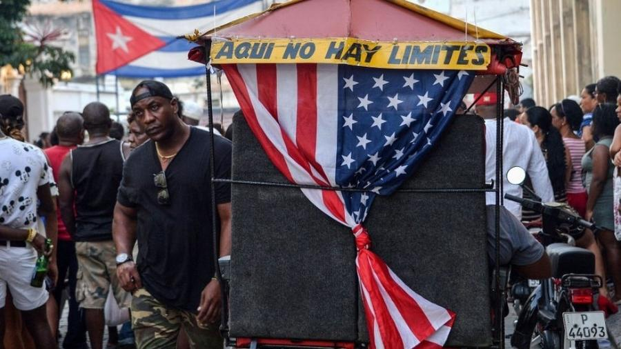 Embargo dos EUA contra Cuba só não foi condenado por dois países em 2019, além do país que o aplica: Israel e Brasil - AFP
