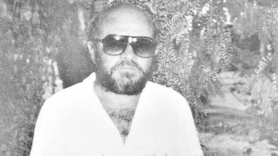 Antônio Waneir Pinheiro Lima, o carcereiro da Casa da Morte de Petrópolis, na região serrana do Rio - Reprodução